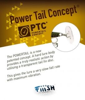 Примамка Fiiish Power Tail 38 мм 6.4гр