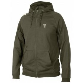 Суитчер Fox Collection Green and Silver Lightweight Hoodie