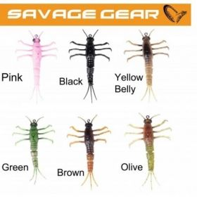 Силиконова примамка Savage Gear 3D TPE Mayfly Nymph