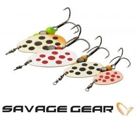 Блесна Savage Gear Caviar Spinner №4+ 18гр
