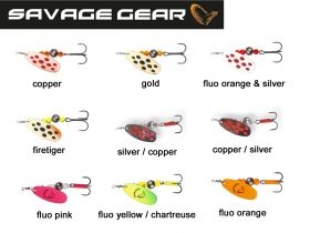 Блесна Savage Gear Caviar Spinner №2 6гр